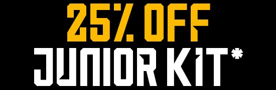 25% Off Junior Kit*