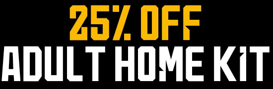 25% Off Adult Home Kit
