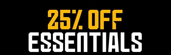 25% Off Essentials