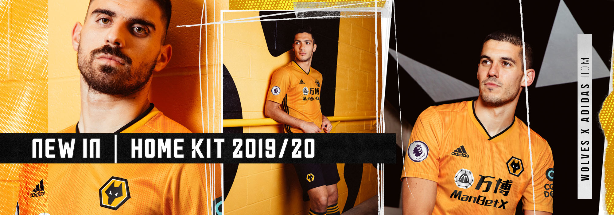 Wolves Home Kit 2019/20