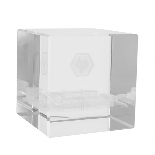 Molineux Glass Stadium Paperweight