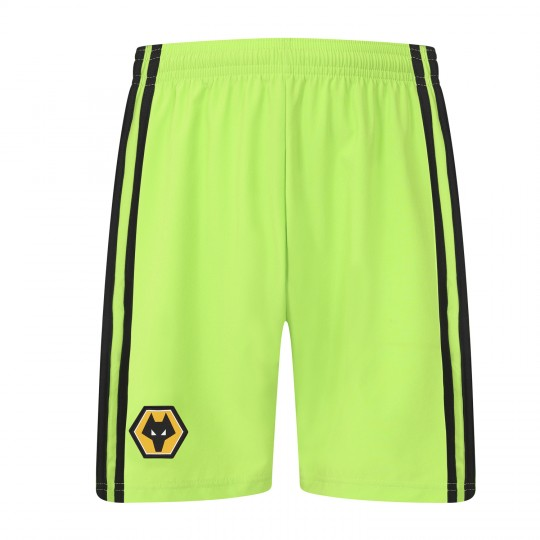 2019-20 Wolves Home Goalkeeper Shorts - Adult