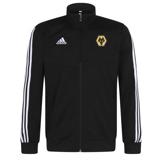 2019-20 Matchday Training Jacket - Black