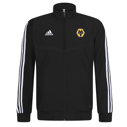 2019-20 Matchday Presentation Jacket - Black - Jnr