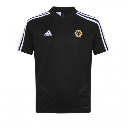 2019-20 Matchday Training T-Shirt - Black - Jnr