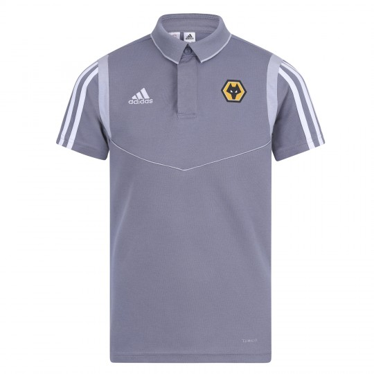 2019-20 Training Polo - Grey - Jnr