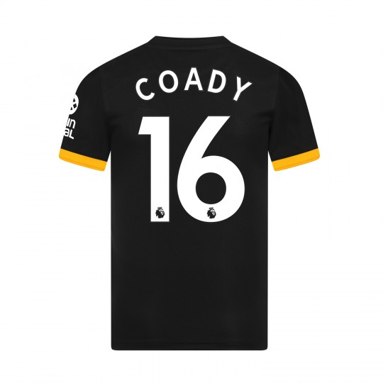 19-20 Wolves Away Shirt with COADY Print - Adult