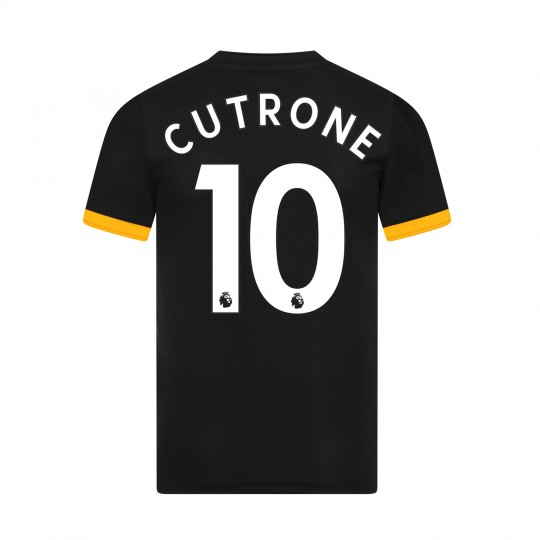 19-20 Wolves Away Shirt with CUTRONE Print - Jnr