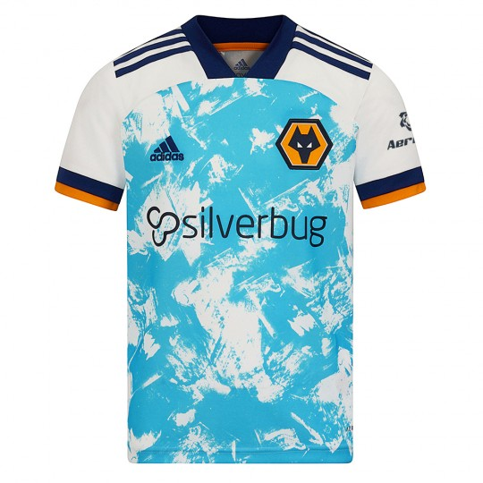 2020-21 Wolves Away Shirt - Junior