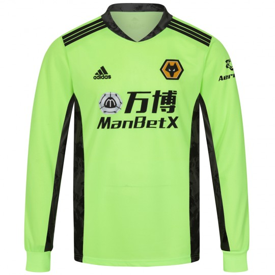 2020-21 Wolves Home Goalkeeper Shirt - Adult