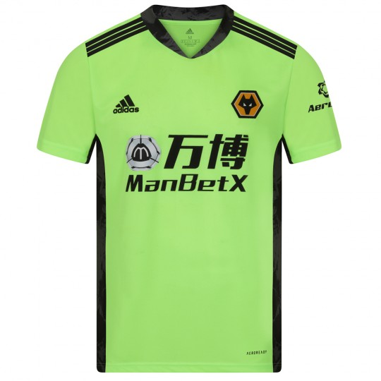 2020-21 Wolves Home SS Goalkeeper Shirt - Adult