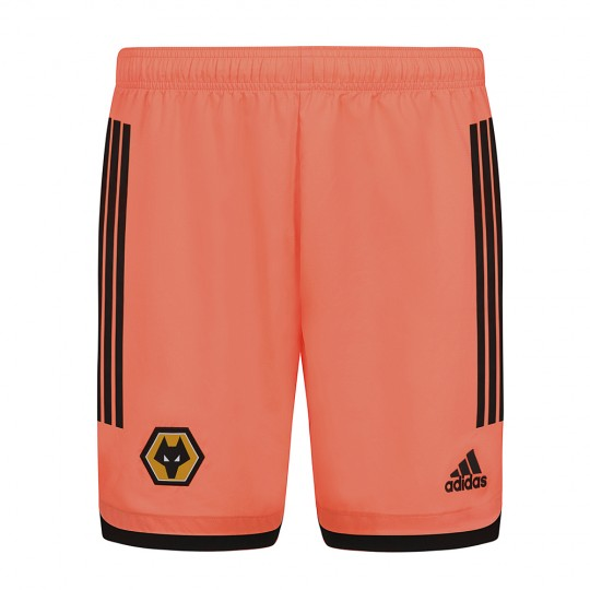 2020-21 Wolves Away Goalkeeper Shorts - Adult