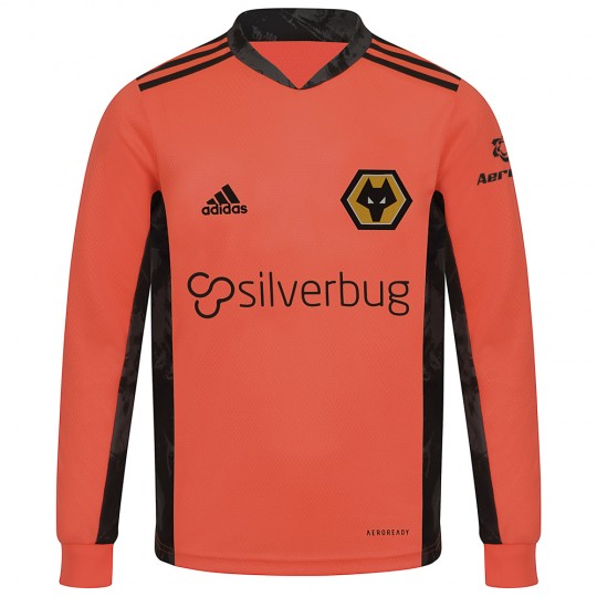 2020-21 Wolves Away Goalkeeper Shirt - Junior
