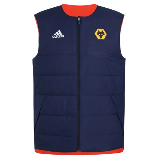 2020-21 Players Padded Training Vest - Navy