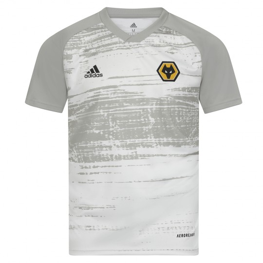 2020-21 Matchday Warm Up T-Shirt - White