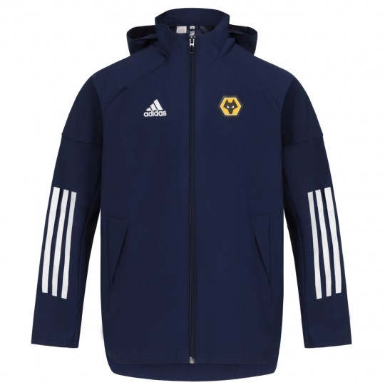 2020-21 Players All Weather Jacket - Navy - Jnr