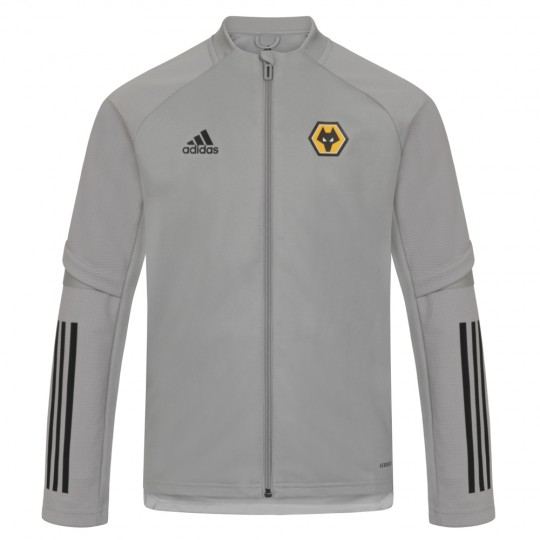 2020-21 Backroom Training Jacket - Grey - Jnr
