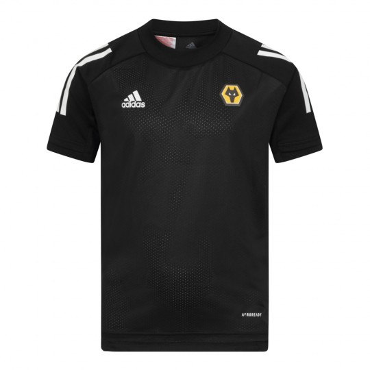 2020-21 Matchday Training T-Shirt - Black - Jnr