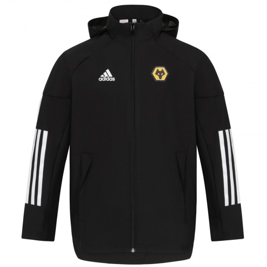 2020-21 Matchday All Weather Jacket - Black - Jnr
