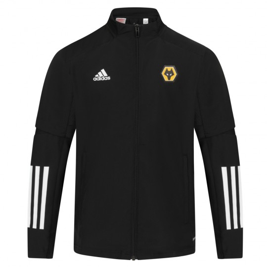 2020-21 Matchday Presentation Jacket - Black - Jnr