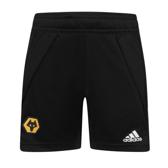 2020-21 Backroom Training Short - Black - Jnr