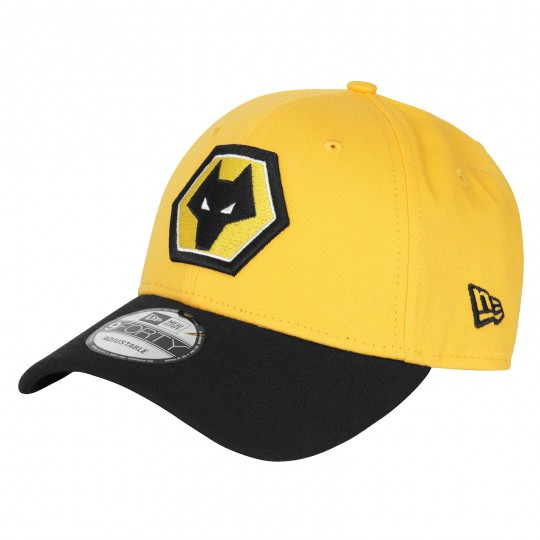 9FORTY Crest Cap by New Era - Gold/Black