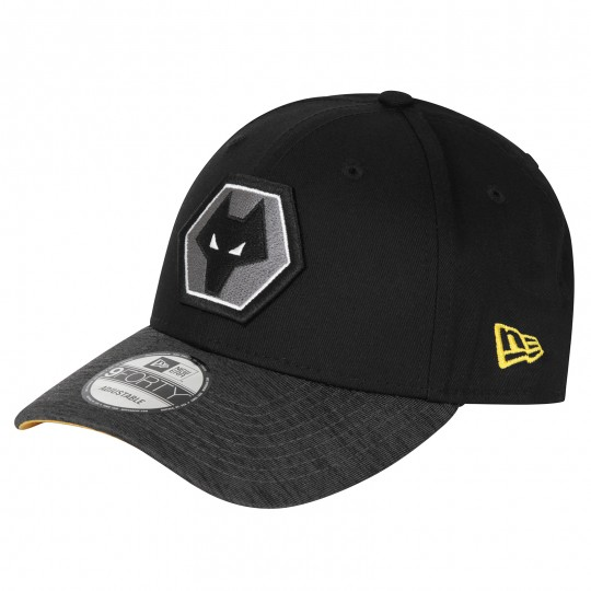 9FORTY Jersey Visor Cap by New Era - Black