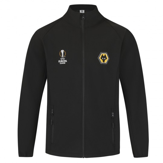 Europa League Softshell Jacket - Black