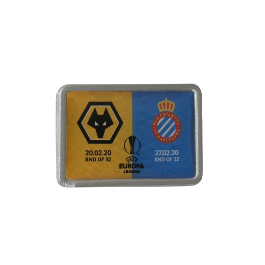 Europa League Round of 32 v Espanyol Pin Badge