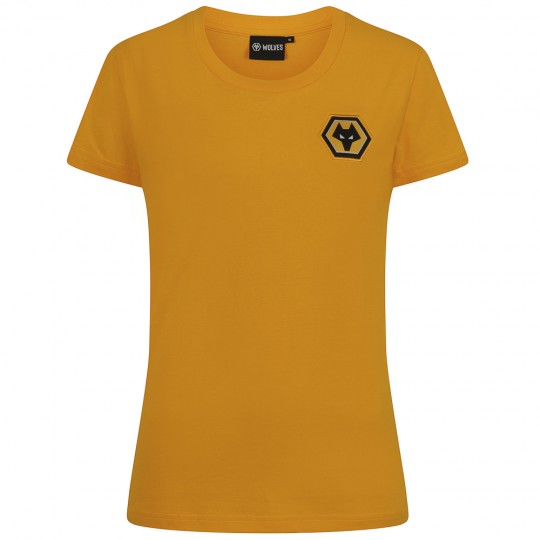 Essentials T-Shirt - Gold - Womens