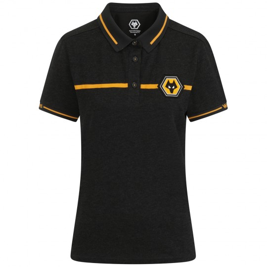 Progression Polo - Charcoal Marl - Womens