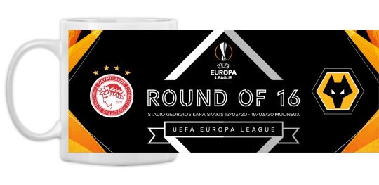 Round of 16 v Olympiacos Ceramic Mug