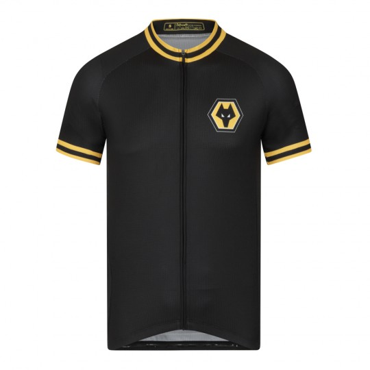 Wolves Authentic Cycle Top - Black