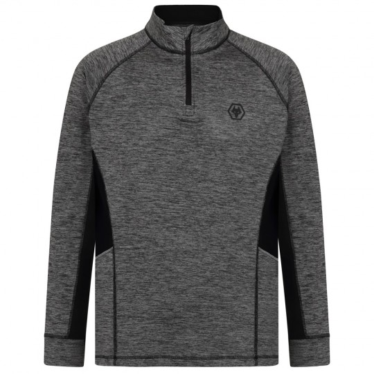 Poly Grindle Performance 1/4 Zip Sweat