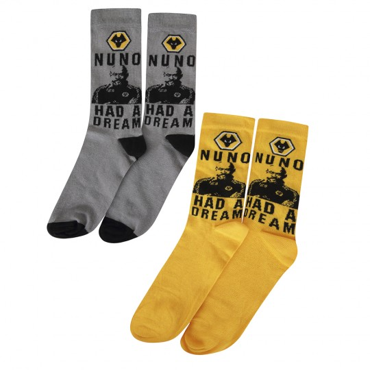 NUNO TWIN PACK  DRESS SOCK
