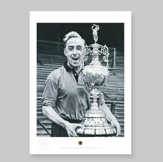 Billy Wright - A2 Print - By Louise Cobbold