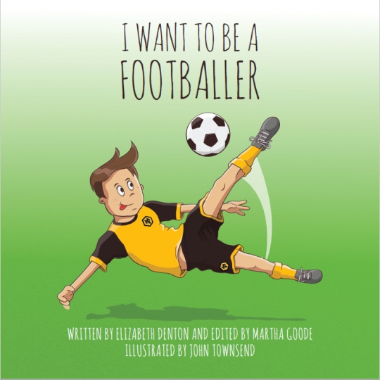I Want To Be A Footballer Book