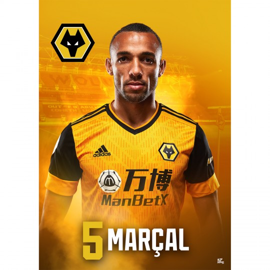 Fernando Marcal Wolves FC A3 Poster 20/21