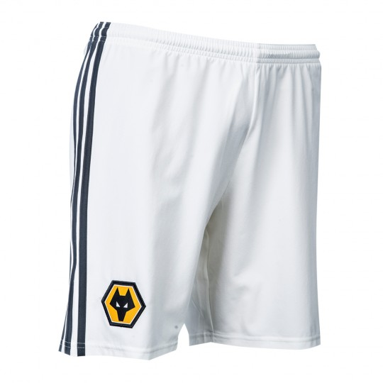 2018-19 Wolves Away Shorts - Junior