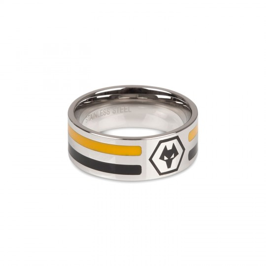 TWO STRIPE COLOURED RING