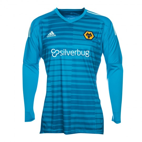 2018-19 Wolves Home Goalkeeper Shirt - Junior