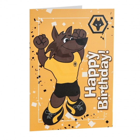 NEW WOLFIE BIRTHDAY CARD