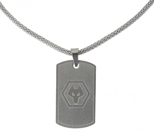 OBLONG PENDANT AND CHAIN