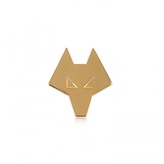 Wolf Head Badge