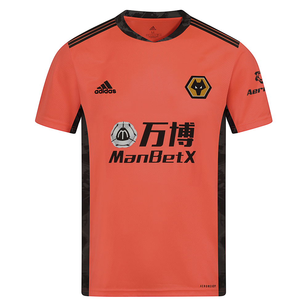 2020/21 Wolves Away SS Goalkeeper Shirt - AdultOthers share the football pitch. But the box is yours. Own it in this Wolves goalkeeper Shirt that flashes bold graphics to stand out from the crowd. The lightweight fabric and heat-transfer details ensure nothing weighs you down. Short sleeves free your arms for confident handling and pinpoint distribution.