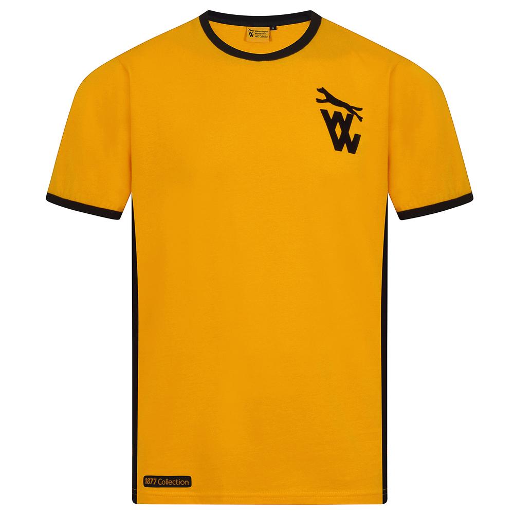 1877 T-shirt - Gold  Gold