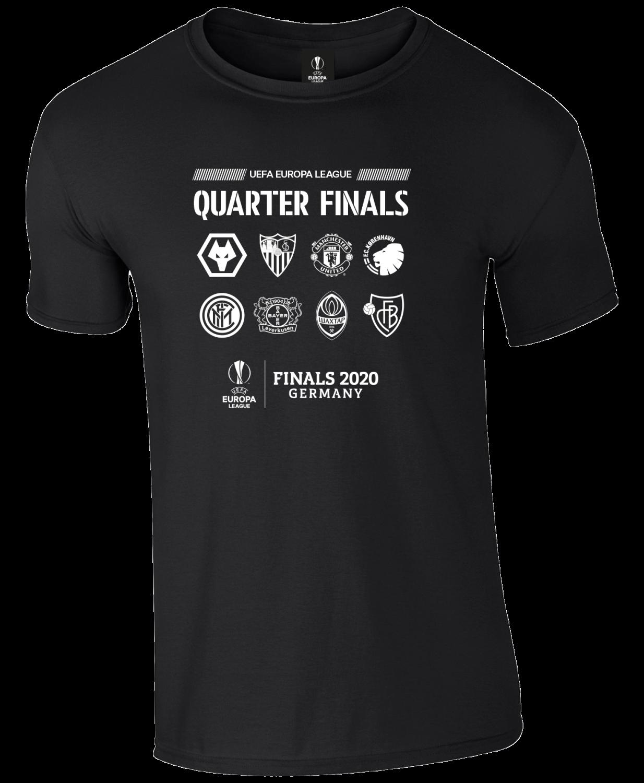 Europa League Quarter Finals T-Shirt