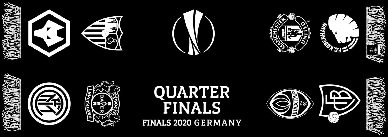Europa League Quarter Finals Scarf