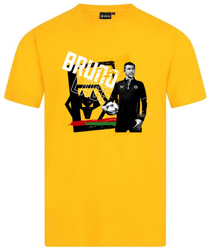 Bruno Lage T-shirt - Gold