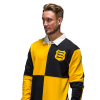 QUARTER LONG SLEEVED RUGBY TOP - LEAPING WOLVES